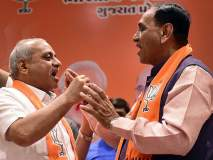 विजय रूपाणी पुन्हा गुजरातचे मुख्यमंत्री; हिमाचलात भाजपाचा गोंधळ, धुमल-ठाकूर रस्सीखेच