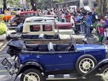 विंटेज क्लासिक गाड्यांची भुरळ : दादरमध्ये 'क्लासिक कार फिएस्टा'