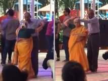 आजी-आजोबाच्या विदेशी बॉल डान्सची सोशल मीडिया रंगली चर्चा, व्हिडीओ व्हायरल!