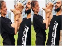 परफेक्ट फॅमिली पिक्चर! विरूष्काच्या कुत्र्यासोबतच्या फोटोवर नेटकरी फिदा