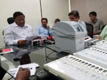 निवडणूक आयोगाने दाखवले व्हीव्हीपीएटी मशीनचे प्रात्यक्षिक