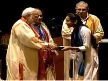 वाशिमच्या 'भाग्यश्री'चा पंतप्रधानांच्या हस्ते सत्कार