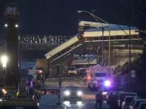 अमेरिकेत हायस्पीड रेल्वे रुळावरुन घसरली, 3 जणांचा मृत्यू