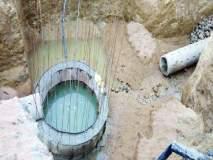 अर्जापूर पाणीपुरवठा योजनेचे काम प्रगतीपथावर