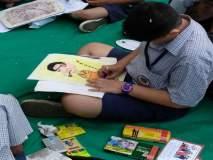 कल्याणमध्ये विद्यार्थी रमले चित्र-रंगांच्या दुनियेत!