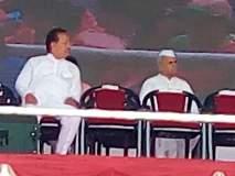 राष्ट्रवादीचे खासदार विजयसिंह मोहिते - पाटील पंतप्रधान मोदींच्या मंचावर