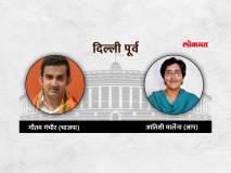 दिल्ली लोकसभा निवडणूक निकाल 2019: सातही जागांवर भाजपाला आघाडी