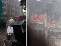 भांडुपच्या आशियाना इंडस्ट्रीजमध्ये लागली आग