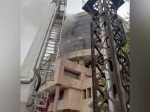 'लंच टाइम'मुळे बचावले कर्मचारी; DGHSच्या ऑफिसात भीषण आग
