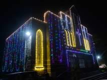कोल्हापूर :नाताळ निमित्त बाजारपेठेत गर्दी, सोमवारी ख्रिसमस फेस्टिव्हलचा समारोप