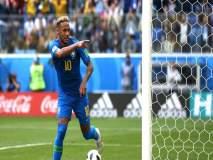 Fifa Football World Cup 2018 : निर्णायक क्षणी गोल लगावत ब्राझीलचा विजय
