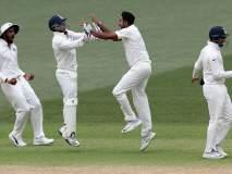 भारताच्या विजयाचे खास फोटोज पाहा...