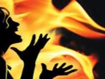 ढकांबे येथील विवाहितेच्या आत्महत्येनंतर सासरच्यांना चोपले