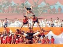 नागपुरात चित्तवेधक असा आंतरराष्ट्रीय योग दिवस साजरा करण्यात आला