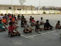 वाशिमच्या क्रीडा विभागाकडून युवा खेळाडूंना योगासनांचे धडे!