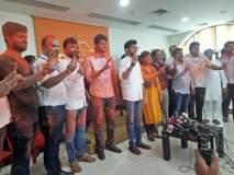सिनेटमधील विजयानंतर शिवसेनाभवनात जल्लोष