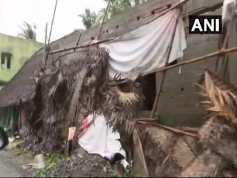Cyclone Gaja : तामिळनाडूमध्ये 'गज' चक्रीवादळाचा कहर, 10 जणांचा मृत्यू