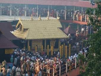 Sabarimala Temple : सबरीमाला मंदिराचे दरवाजे अखेर उघडले, केरळच्या काही भागात जमावबंदी