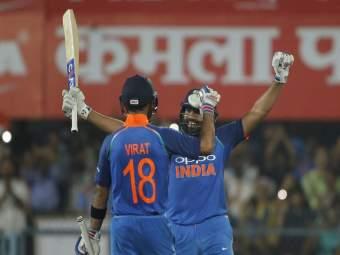 IND Vs WIN 1st One Day: विराट-रोहितच्या फटकेबाजीने भारताला मिळवून दिला विजय