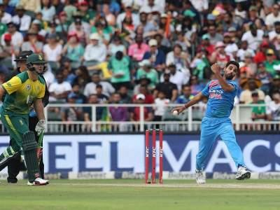 भुवनेश्वरचा परफेक्ट पंच! पहिल्या टी-20त भारताची दक्षिण आफ्रिकेवर 28 धावांनी मात