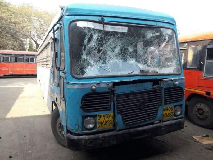 Bhima-Korgaon violence: 9 vehicles in Amalner, two suspects detained | भीमा -कोरेगाव हिंसाचार : अमळनेरमध्ये नऊ वाहनांची तोडफोड, दोघे संशयित ताब्यात