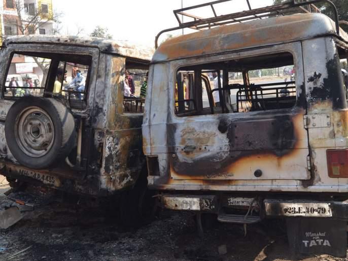 Bhima-Koregaon incident falls in Hingoli district | भीमा-कोरेगाव घटनेचे हिंगोली जिल्ह्यात पडसाद
