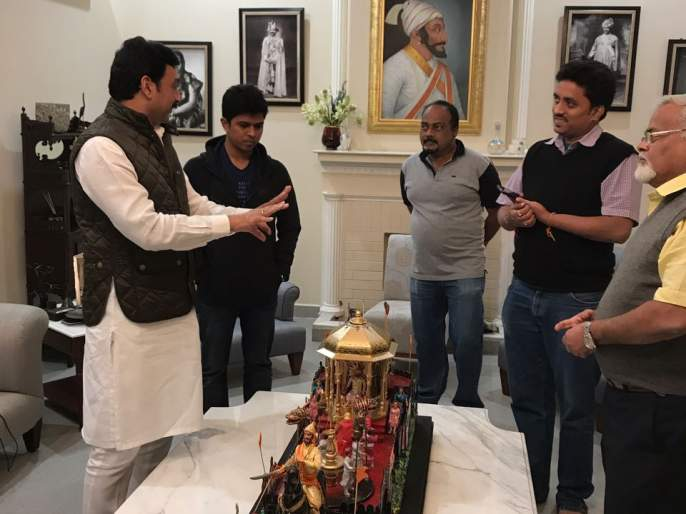 Kolhapur: Shivrajyabhishek ceremony will be on the Rajpath daydays! | कोल्हापूर : प्रजासत्ताक दिनी राजपथावर अवतरणार शिवराज्याभिषेक सोहळा !