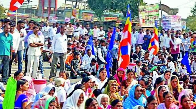 Movement in Ghatanji, Ner, Kalamb and Ralegaon | घाटंजी, नेर, कळंब, राळेगावात आंदोलन