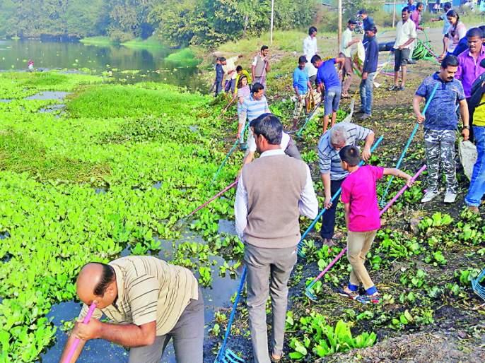 55 trucks garbage collect; Pimpri Chinchwad's pavna river Clean campaign | पंचावन्न ट्रक कचरा गोळा; पिंपरी चिंचवडमध्ये 'माझी पवनामाई स्वच्छ पवनामाई' उपक्रम