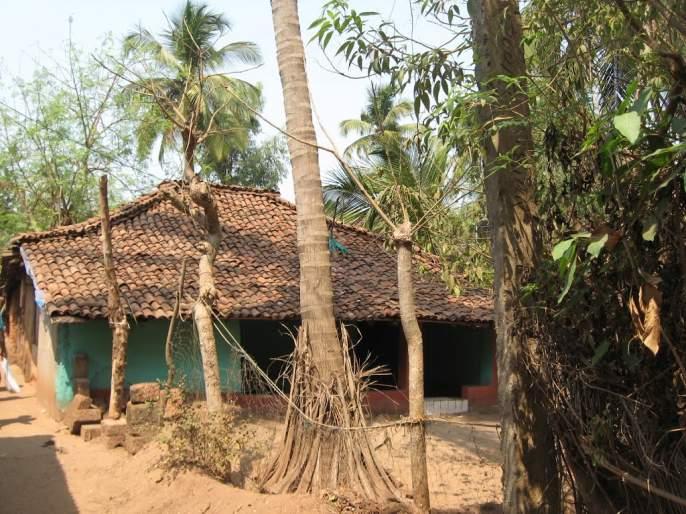 The village in Chandrapur district still remain out of the world   चंद्रपूर जिल्ह्यातले एकारा हे गाव कायमचे जगापासून तुटलेले