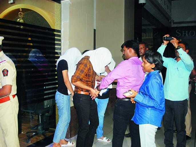 High-profile international sex racket exposed in Aurangabad   औरंगाबादेत हायप्रोफाइल आंतरराष्ट्रीय सेक्स रॅकेटचा पर्दाफाश