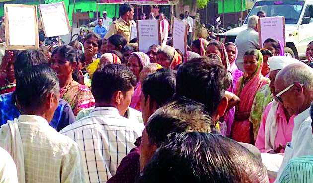 Mohdat Tehsilwar Morcha | मोहाडीत तहसीलवर मोर्चा