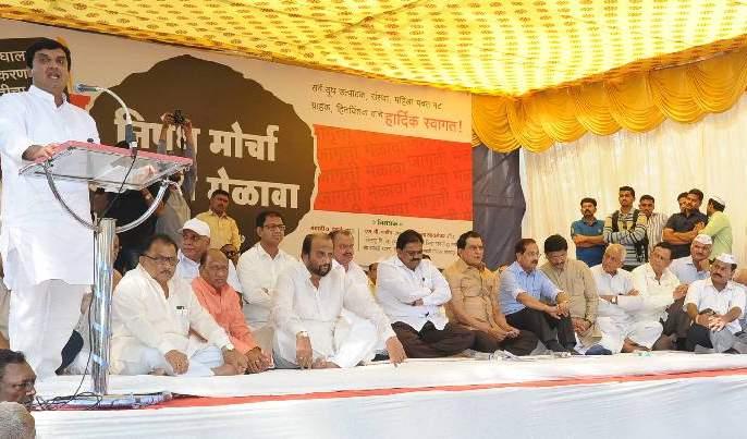 Dhananjay Mahadik's remarks on 'Satyaj Patil' in Kolhapur | 'गोकुळ'ची बदनामी सहन केली जाणार नाही, कोल्हापुरात धनंजय महाडिकयांची सतेज पाटील यांच्यावर जोरदार टीका