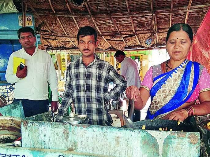 She 'flaunted' the world over her reliance on Tea stall | चहाटपरीच्या भरवशावर 'तिने' फुलविला नागपुरात संसार