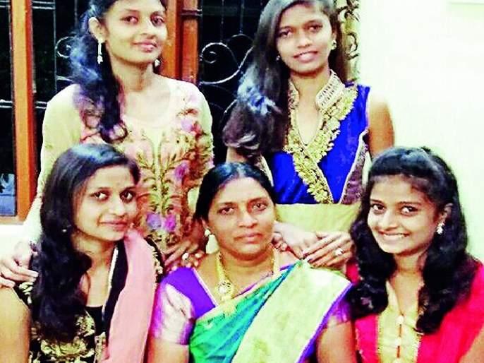 she made life of her four girls in Nagpur | जिद्दीने घडविले चार मुलींचे भविष्य; 'तिच्या' अस्तित्वाची पाऊलवाट