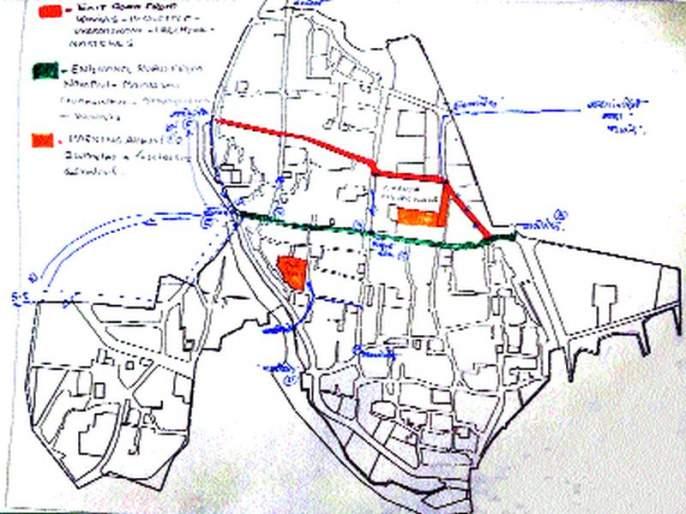 Access to vehicles in Ganesh Peth: Six one way to overcome traffic jams: Proposed traffic plan of proposed city of Sinnar | गणेशपेठेत वाहनांना प्रवेशबंदी : वाहतूक कोंडी दूर करण्यासाठी सहा एकेरी मार्ग प्रस्तावित सिन्नर शहराचा प्रारूप वाहतूक आराखडा मंजूर