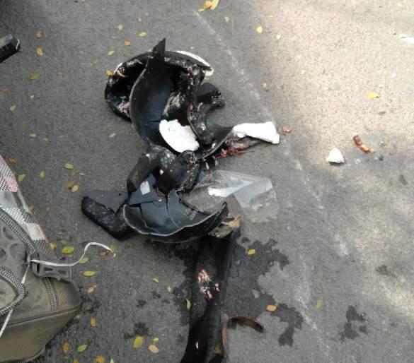 Bikerider died on the spot in accident in Nagpur | नागपुरात भरधाव वाहनाच्या धडकेत दुचाकीचालकाचा करुण अंत
