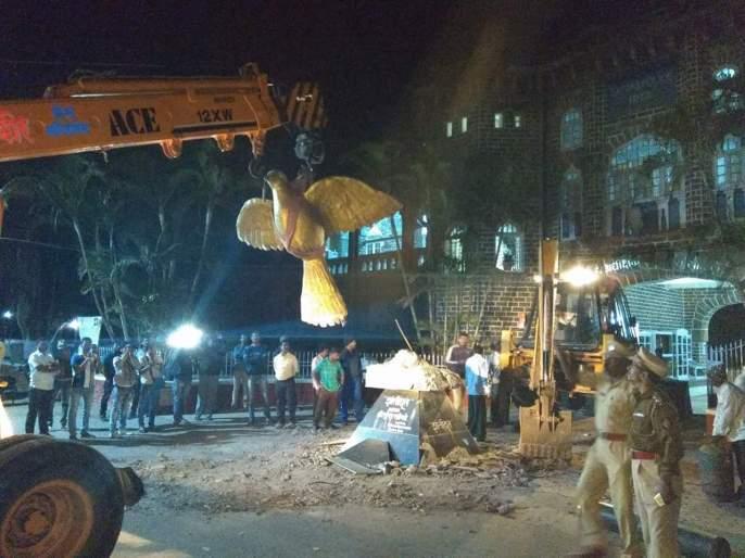Satara: Shamduta statue parade will be set in the Sat Parachar | सातारा : लोकमतचा आदर करत लाडका पक्षी साताऱ्यांतच,शांतिदुताचा पुतळा परेड मैदानात बसवणार