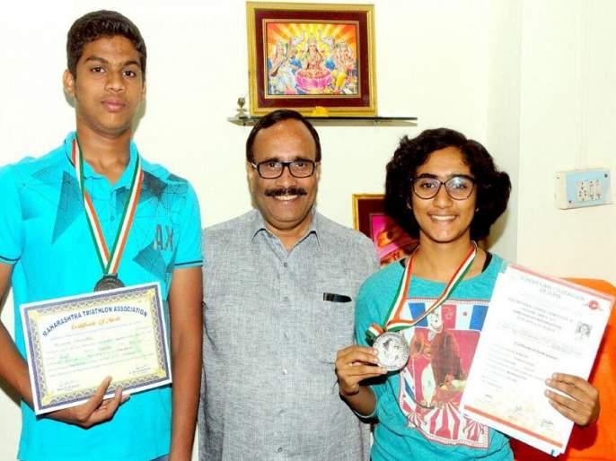 Shravya, Shreyas, Abhirbhanu's selection for National Championship | श्राव्या, श्रेयस, अभिरभानू यांची राष्ट्रीय स्पर्धेसाठी निवड
