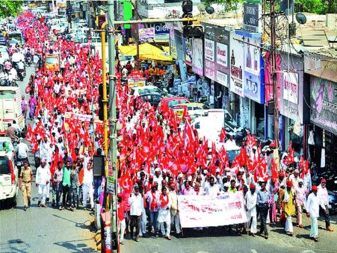 The CPI (M) 's Front on the question of farmers, workers | शेतकरी, कामगारांच्या प्रश्नावर भाकपचा मोर्चा