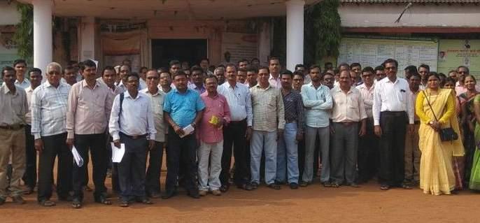 Teacher's boycott of all kind of online work in Gondia district | गोंदिया जिल्ह्यात सर्व प्रकारच्या आॅनलाईन कामावर शिक्षकांचा बहिष्कार