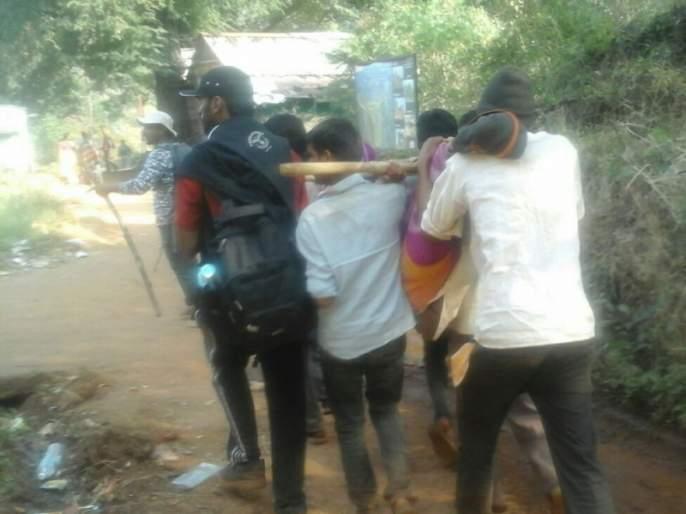 honeyBees attack tourists; incident on Rajgad fort, 4 serious | मधमाशांनी चढवला पर्यटकांवर हल्ला; राजगड किल्ल्यावरील प्रकार, ४ गंभीर