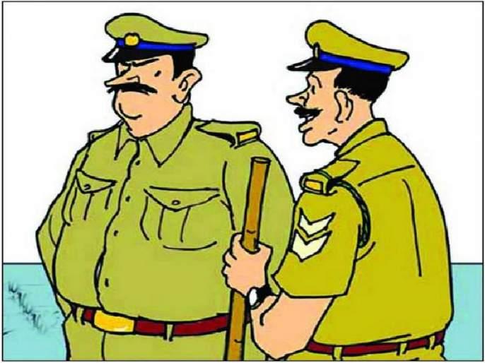 Halghargi police station accident case; Due to accident due to post officials | हलगर्जी पोलिसांमुळे अपघातातील मृतदेहाचे हाल; पोस्ट अधिकाऱ्यांच्या अपघातामुळे प्रकरण चव्हाट्यावर