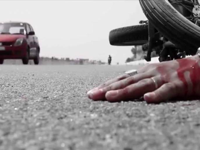 Akola: Two wheelers killed in a tanker near the railway station, Maldalka | अकोला : रेल्वेस्थानक मालधक्कय़ाजवळ टॅँकरच्या धडकेत दुचाकीस्वार ठार