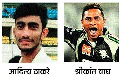 Akoli's Aditya Thakre, Shrikant Wagh of Buldhana; The IPL players are included in the auction list | अकोल्याचा आदित्य ठाकरे, बुलडाण्याच्या श्रीकांत वाघवर लक्ष;'आयपीएल'च्या खेळाडू लिलाव यादीत समावेश