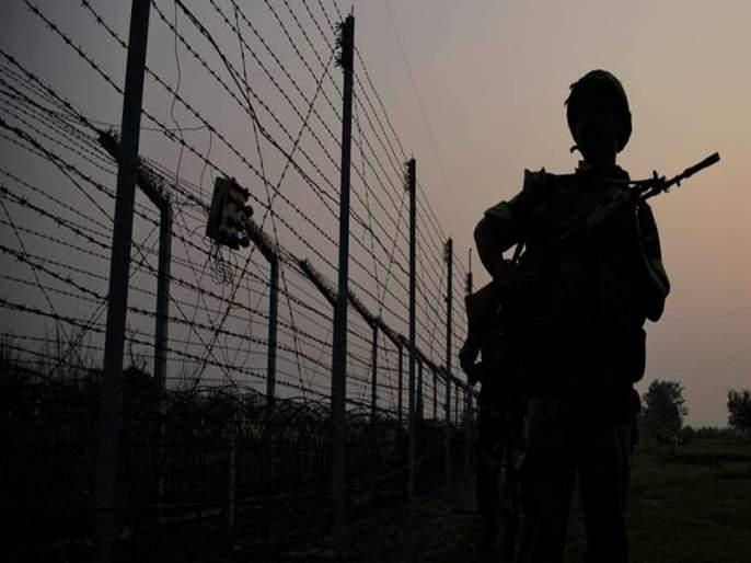 Pakistan violates ceasefire, a jawan martyr | पाकिस्तानकडून शस्त्रसंधीचे उल्लंघन, एक जवान शहीद