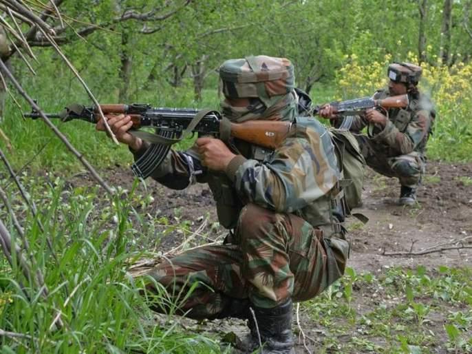 Three militants killed in encounter | बांदिपोरा येथील चकमकीत लष्कराकडून तीन दहशतवाद्यांना कंठस्नान