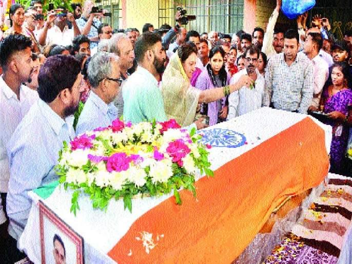 Prasad Mahadik merged in infinity | प्रसाद महाडिक अनंतात विलीन