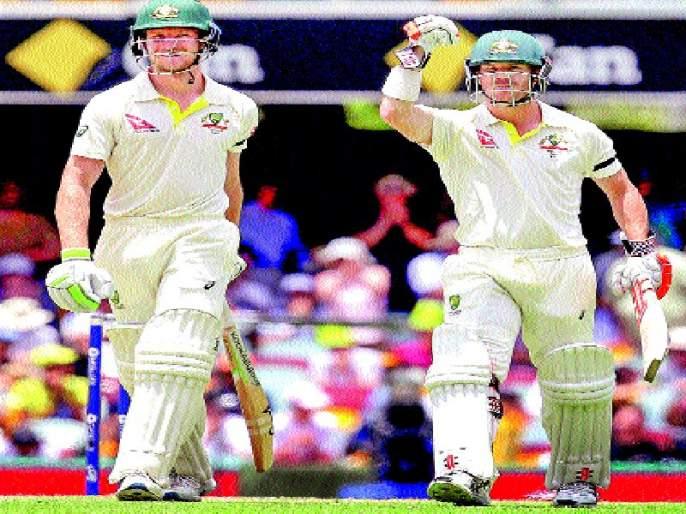 Ashes series: Australia beat England, Warner, half-century of Benkraft | अॅशेस मालिका : आॅस्ट्रेलियाचा इंग्लंडवर विजय , वॉर्नर, बेनक्राफ्टची अर्धशतके
