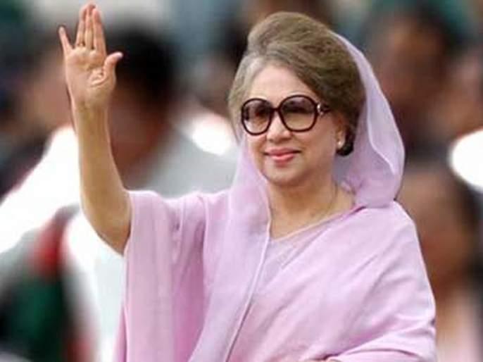 Begum Khaleda Zia sentenced to five years in jail for money laundering | रकमेच्या अपहारप्रकरणी बेगम खालिदा झिया यांना पाच वर्षांचा तुरुंगवास